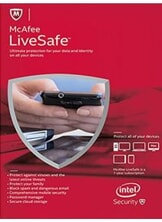 McAfee Livesafe 2016 1 Year (Unlimited Edition) Licenta Electronica