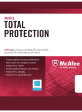 McAfee Total Protection 2016 1 Year 3 Pc Licenta Electronica